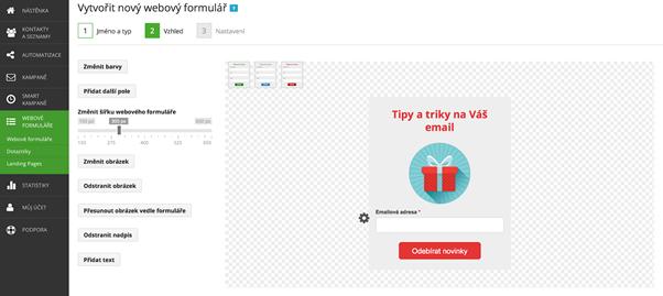 Jak vytvořit pop-up okno ve SmartEmailingu.
