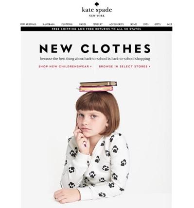 Kampaň zpátky do školy: oblečení